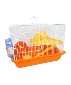 قفس همستر دایانگ مدل M02 رنگ نارنجی