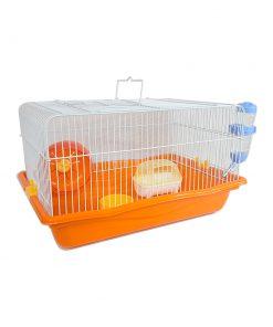 قفس همستر دایانگ مدل M01 رنگ نارنجی