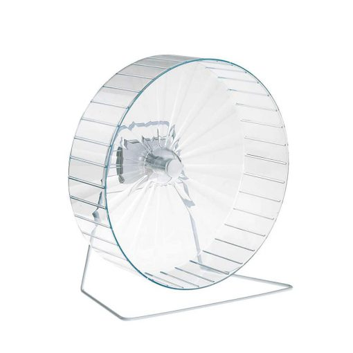 چرخ و فلک همستر قطر 30 سانتی متر رنگ شفاف