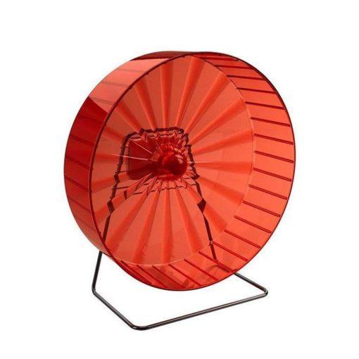 چرخ و فلک همستر قطر 30 سانتی متر رنگ قرمز