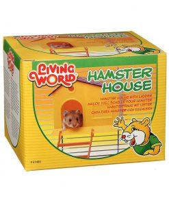 خانه همستر با نردبان به رنگ زد برند هگن