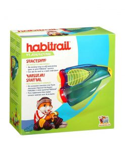 خانه همستر مدل سفینه برند هبیتریل