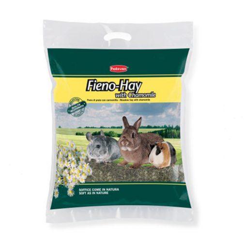 علوفه پادوان با گل بابونه fieno-hay With chamomile