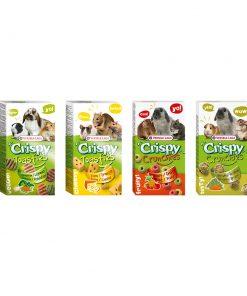 تشویقی های بیسکوییتی جوندگان کریسپی ورسلاگا versele-laga crispy bisquits